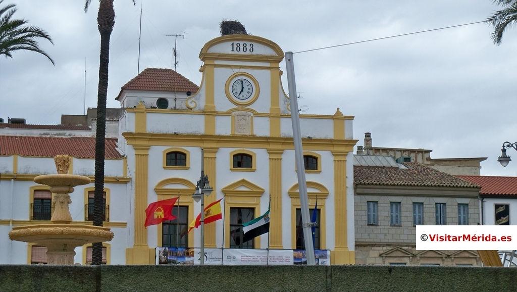 plaza españa merida