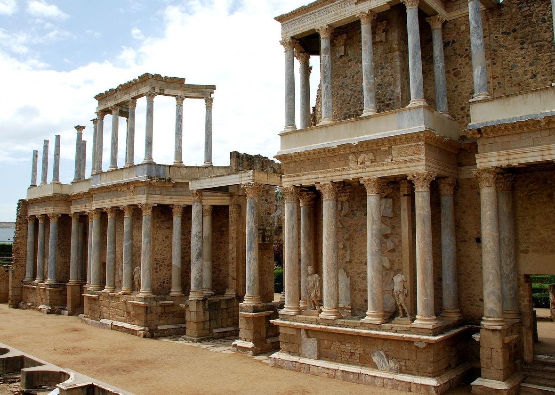 frente escena teatro romano