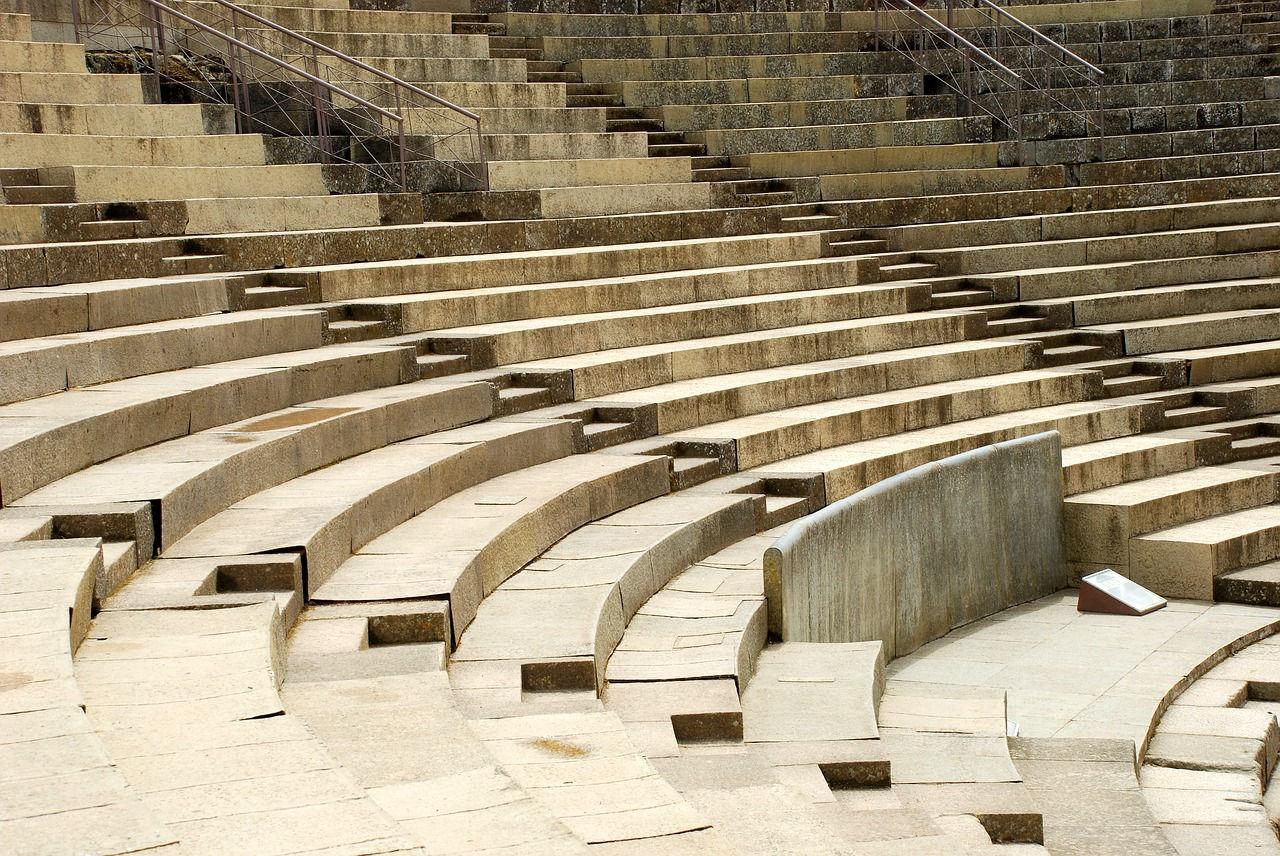 gradas teatro romano