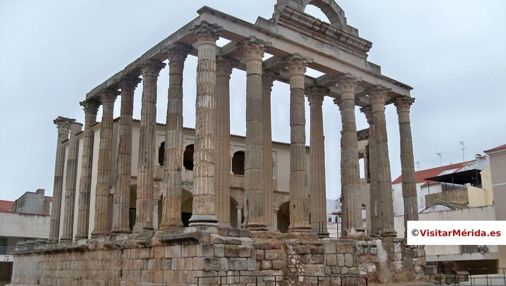 templo de diana de merida España