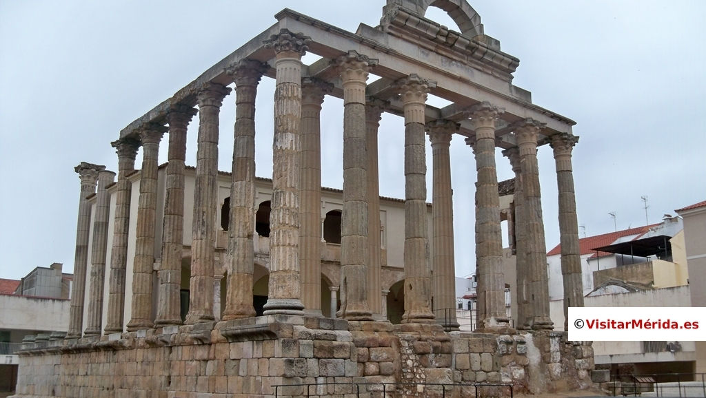 templo de diana merida