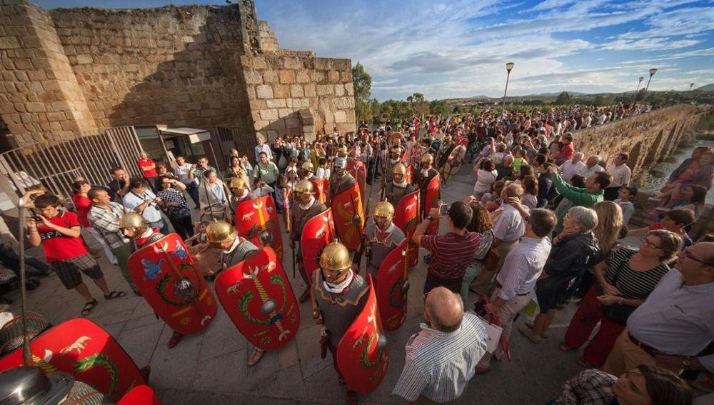 emerita ludica 2018 merida puente romano